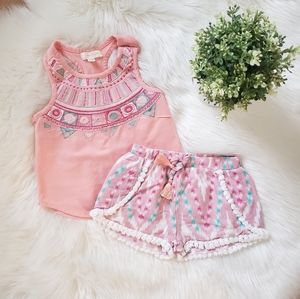 Adorable Boho Outfit Set